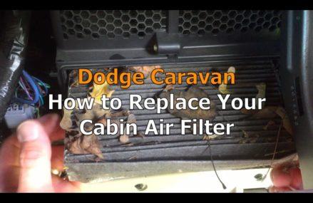 Dodge Caravan Cabin Air filter Replacement in Macksburg 45746 OH