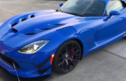 2016 Dodge Viper Acr at Richmond International Raceway, Richmond, Virginia 2018