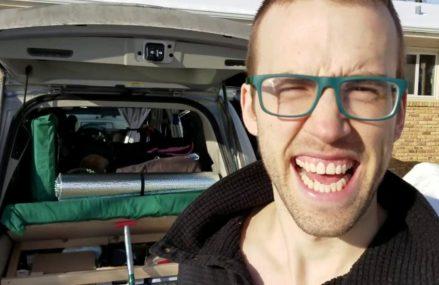 Minivan Camper Conversion Tour!!!!…VANLIFE From Luke 21540 MD