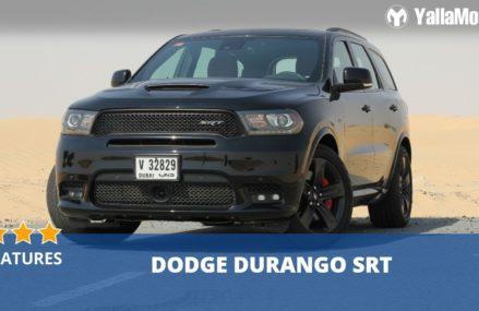 Dodge Durango SRT 2018 Features | YallaMotor.com Alexandria Virginia 2018