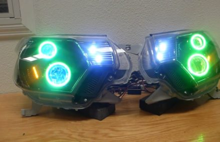Dodge Caliber Led Headlights at Batesville 78829 TX USA