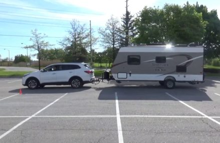 RV TRAVELS – Sante Fe Towing a Travel Trailer – set up in Mertztown 19539 PA