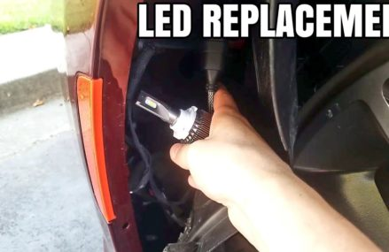 HOW TO INSTALL LED HEADLIGHTS ON A DODGE CHARGER SCATPACK Around Zip 25410 Bakerton WV