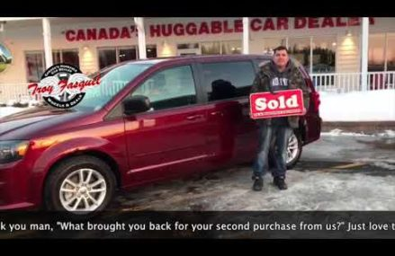 Anthony , 2017 Dodge Grand Caravan    | JIM GILBERT'S WHEELS & DEALS at March Air Force Base 92518 CA