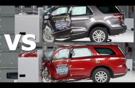 Top Cars:  [CRASH TEST] 2017 Dodge Durango vs Ford Explorer Lubbock Texas 2018