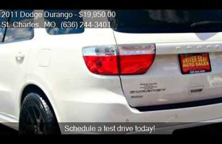 2011 Dodge Durango R/T AWD 4dr SUV for sale in St. Charles, Salinas California 2018