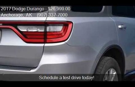 2017 Dodge Durango SXT Plus AWD 4dr SUV for sale in Anchorag Norfolk Virginia 2018
