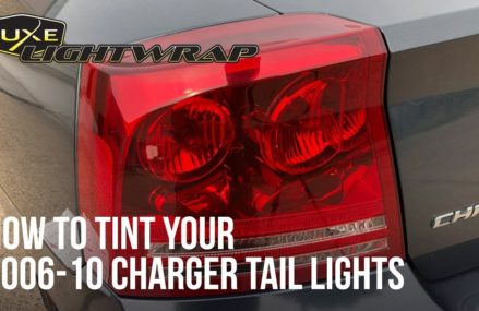 How To Tint Your 2006 2010 Charger Tail Lights Around Zip 44307 Akron OH