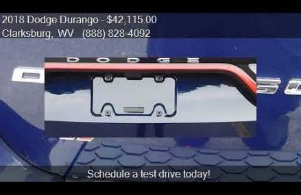 2018 Dodge Durango SXT Plus AWD 4dr SUV for sale in Clarksbu Savannah Georgia 2018