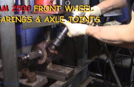 Dodge Ram 2500/3500: Front Wheel Bearings & U-Joints – Part I Zip Area 60098 Woodstock IL