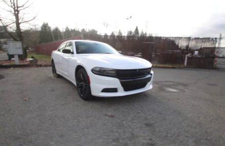 2018 Dodge Charger SXT Blacktop | White | JH187600 | Redmond | Seattle | For 22002 Amissville VA