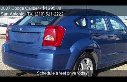 2007 Dodge Caliber Engine at Conroe 77304 TX USA