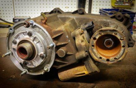 Transfer Case Removal – Dodge Dakota Winston-Salem North Carolina 2018