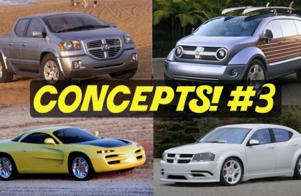 5 Dodge Concept Cars That Almost Made It // PART 3! For 47421 Bedford IN