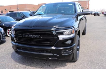 2019 Ram 1500 Bighorn Midnight Walk Around Place 74963 Watson OK