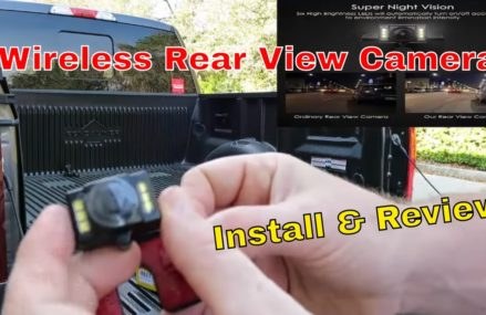 Auto-Vox wireless rear view camera install & review From Miami 33156 FL
