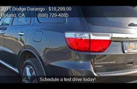 2011 Dodge Durango Citadel AWD 4dr SUV for sale in Upland, C Huntington Beach California 2018