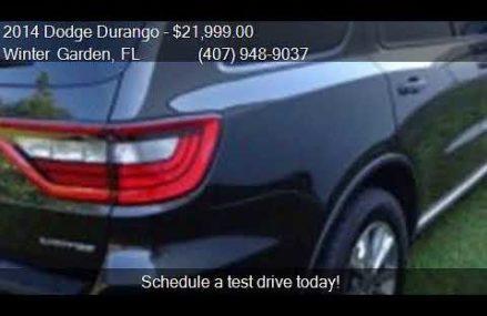 2014 Dodge Durango Limited 4dr SUV for sale in Winter Garden Anaheim California 2018