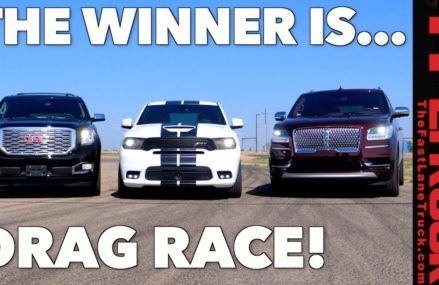 All American Big Ass Truck Drag Race! GMC vs Ford vs Dodge Lubbock Texas 2018