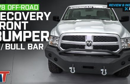 2013-2015 RAM 1500 DV8 Off-Road Recovery Front Bumper w/ Bull Bar Review & Install Near 94114 San Francisco CA