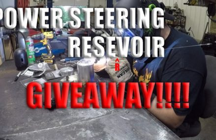 POWER STEERING RESERVOIR BUILD AND GIVEAWAY!!!!! in Merced 95344 CA