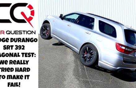 Dodge Durango SRT AWD Diagonal test | A fast sports truck that can't FAIL! Jersey  New Jersey 2018
