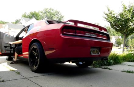 My 2010 Dodge Challenger SE Dual Exhaust Sound Local Meridian 39301 MS