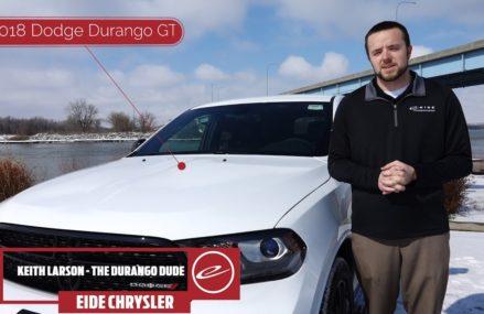 2018 Dodge Durango GT | SUV in Bismarck, ND-Eide Chrysler Bismarck Car Dealership Columbus Ohio 2018