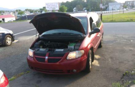 Coldstart: 2006 Dodge Grand Caravan SXT Special Edition at Marquette 67464 KS