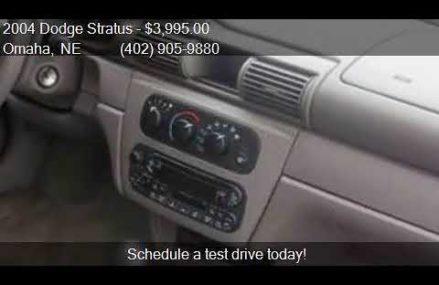 Dodge Stratus Sxt 2004 at Old Town 32680 FL