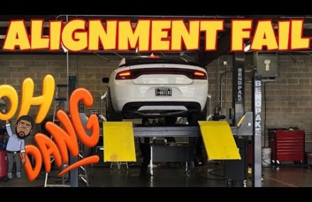 MY DODGE CHARGER ALIGNMENT IS HORRIBLE Now at 51001 Akron IA