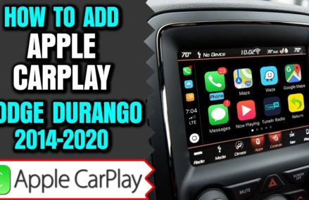 Dodge Durango Apple Carplay, 2014-2019 Dodge Durango Uconnect 8.4 Apple CarPlay Android Auto Upgrade Hayward California 2018