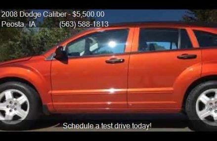Dodge Caliber Xlt 2008 From Lefors 79054 TX USA