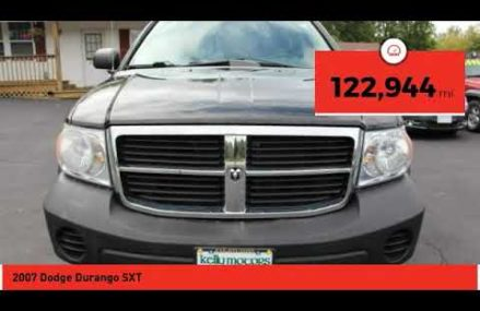 2007 Dodge Durango Wildwood MO 10068 Buffalo New York 2018