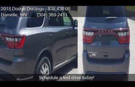 2018 Dodge Durango SXT AWD 4dr SUV for sale in Danville, WV Garland Texas 2018
