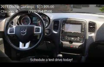 2011 Dodge Durango Crew AWD 4dr SUV for sale in Chicago, IL Oceanside California 2018