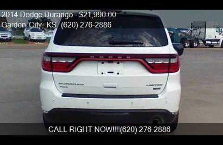 2014 Dodge Durango Limited AWD 4dr SUV for sale in Garden Ci Anchorage municipality Alaska 2018