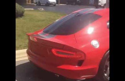 Dodge Viper Hardtop  Bristol Dragway, Bristol, Tennessee 2018