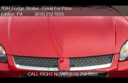2004 Dodge Stratus Sxt at Long Beach 90832 CA