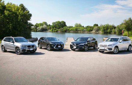2018 Luxury Midsize 3-Row SUV Comparison: Acura MDX vs Volvo XC90 vs BMW X5 vs Lexus RX 350L Glendale Arizona 2018