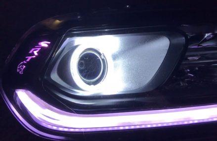 2014 – 2015 Dodge Durango Custom retrofitted Headlights Frisco Texas 2018