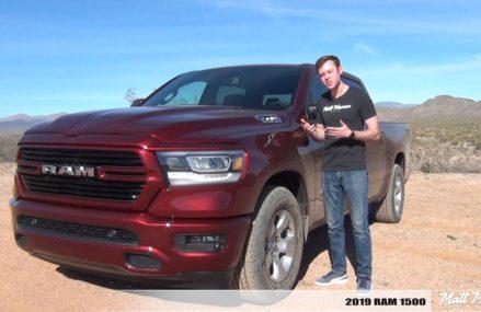 Review: 2019 RAM 1500 – The New Truck Benchmark! From 85361 Wittmann AZ