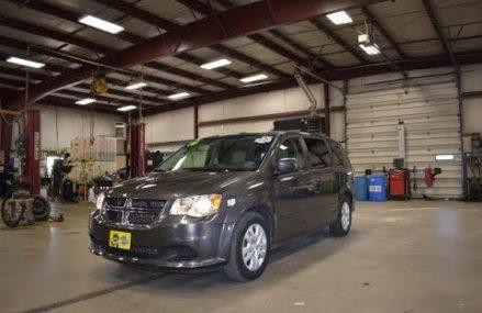 2016 Granite Crystal Dodge Caravan SXT American Value Package SLT4636A Motor Inn Auto Group Near New Orleans 70165 LA