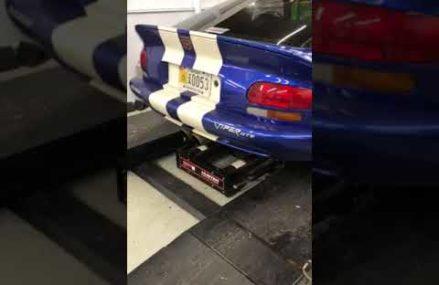 Dodge Viper Gen 2 in Corbin Speedway, Corbin, Kentucky 2018