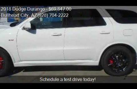 2018 Dodge Durango SRT AWD 4dr SUV for sale in Bullhead City Richmond Virginia 2018