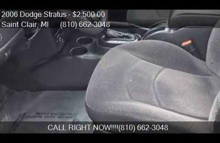 2006 Dodge Stratus Sxt in San Diego 92198 CA