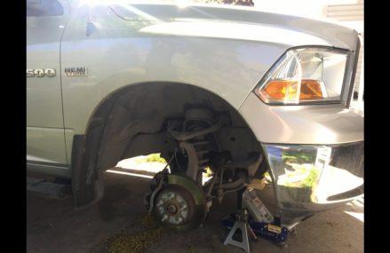 HEMI Exhaust Manifold Leak Repair & Broken Bolt Extraction Chesapeake Virginia 2018