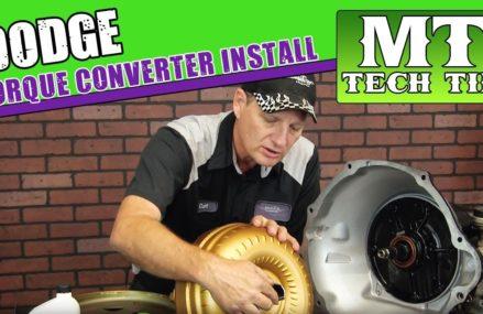 Dodge Torque Converter Install Irvine California 2018