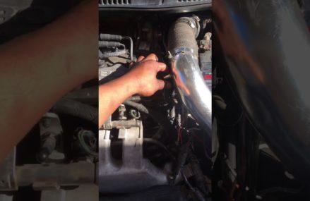 Dodge Caliber Engine Cover at Tivoli 77990 TX USA