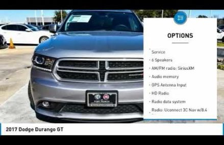 2017 Dodge Durango Ft. Worth Tx, Arlington TX, Grapevine TX U897034 Olathe Kansas 2018